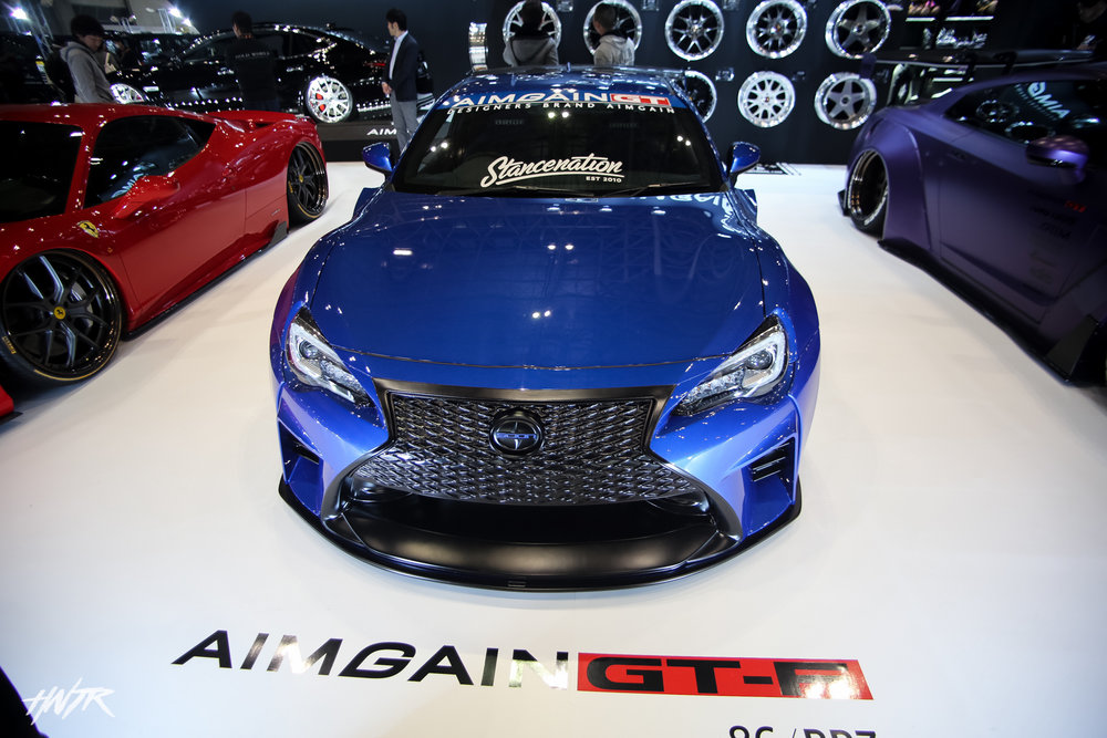 Aimgain took a whole different approach with the Toyota GT86 and I love it! What do you think?