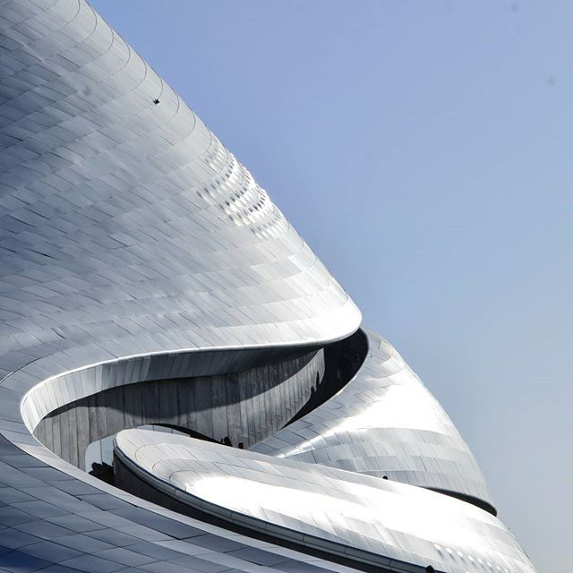 Harbin Grand Theatre  #MADarchitects