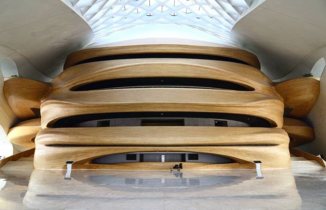 Harbin Grand Theatre Internal #MADarchitects