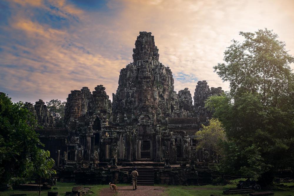Bayun Temple at the ruins of Angkor. Cambodia