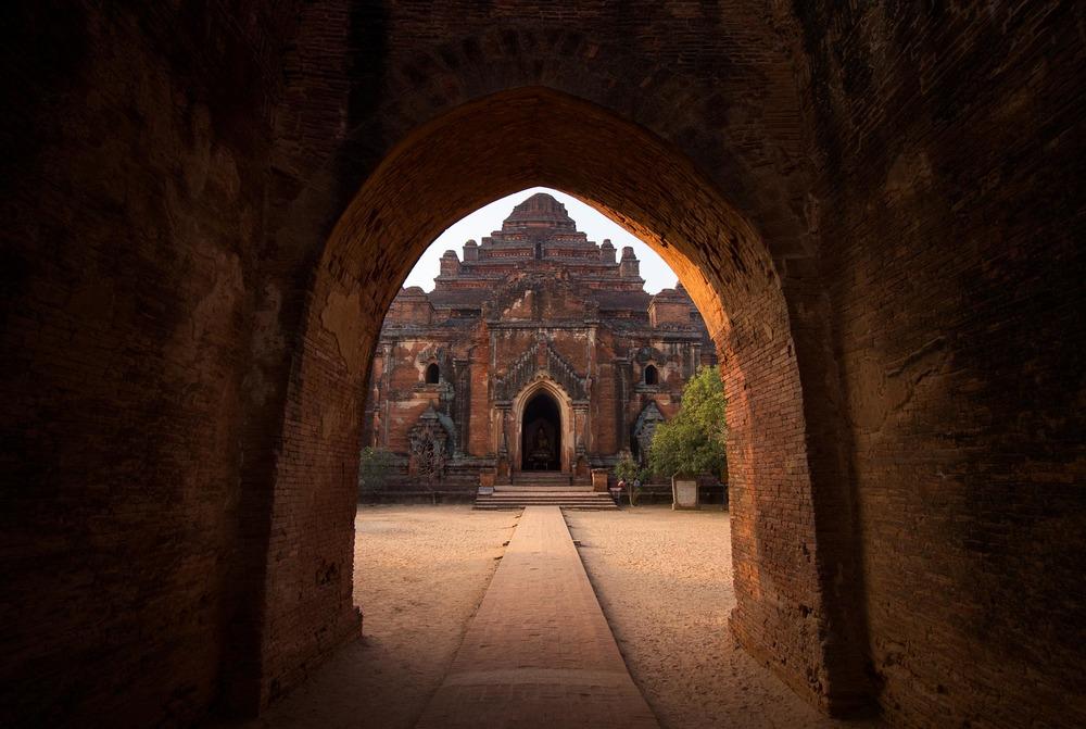 Dhammayangyi temple in Bagan. Myanmar