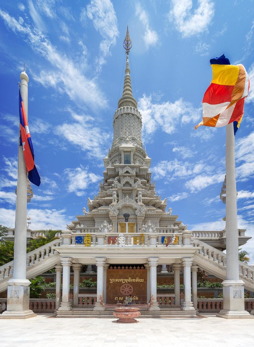 Temple atop Udon Hill. Cambodia
