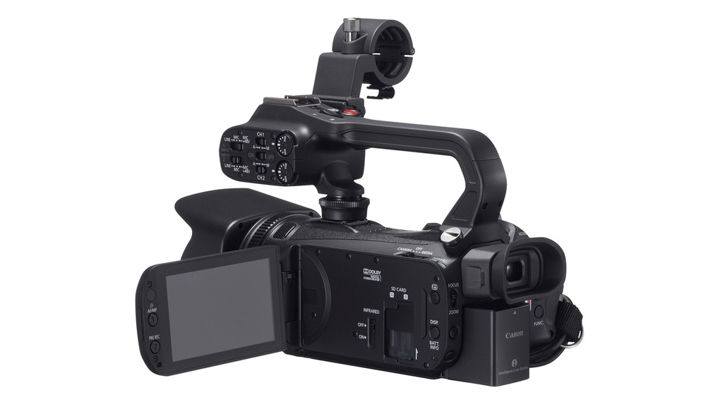 Canon XA-25 Full High Definition video camera with HD-SDI output