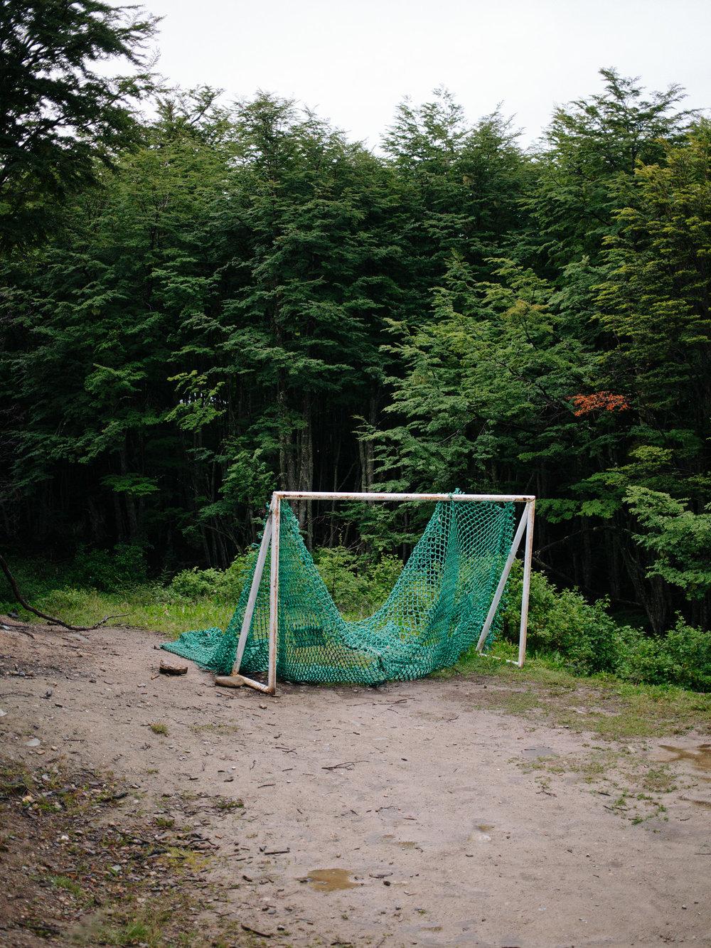 A football eld inside ' Dos Banderas ' district.