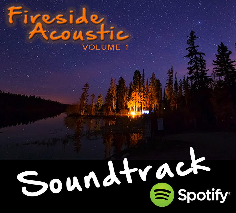 New Spotify Soundtrack: #7 - 'Acoustic Fireside' - Vol.1