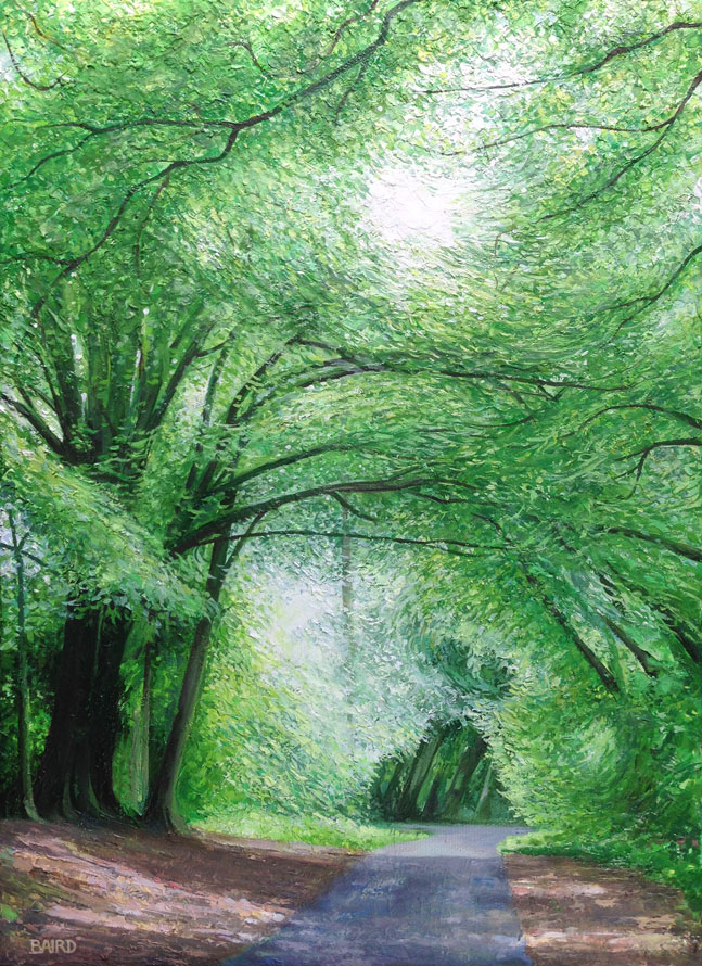 The Emerald Arches - Price on applicationOil on canvas35.5cm x 25.5cmFramed