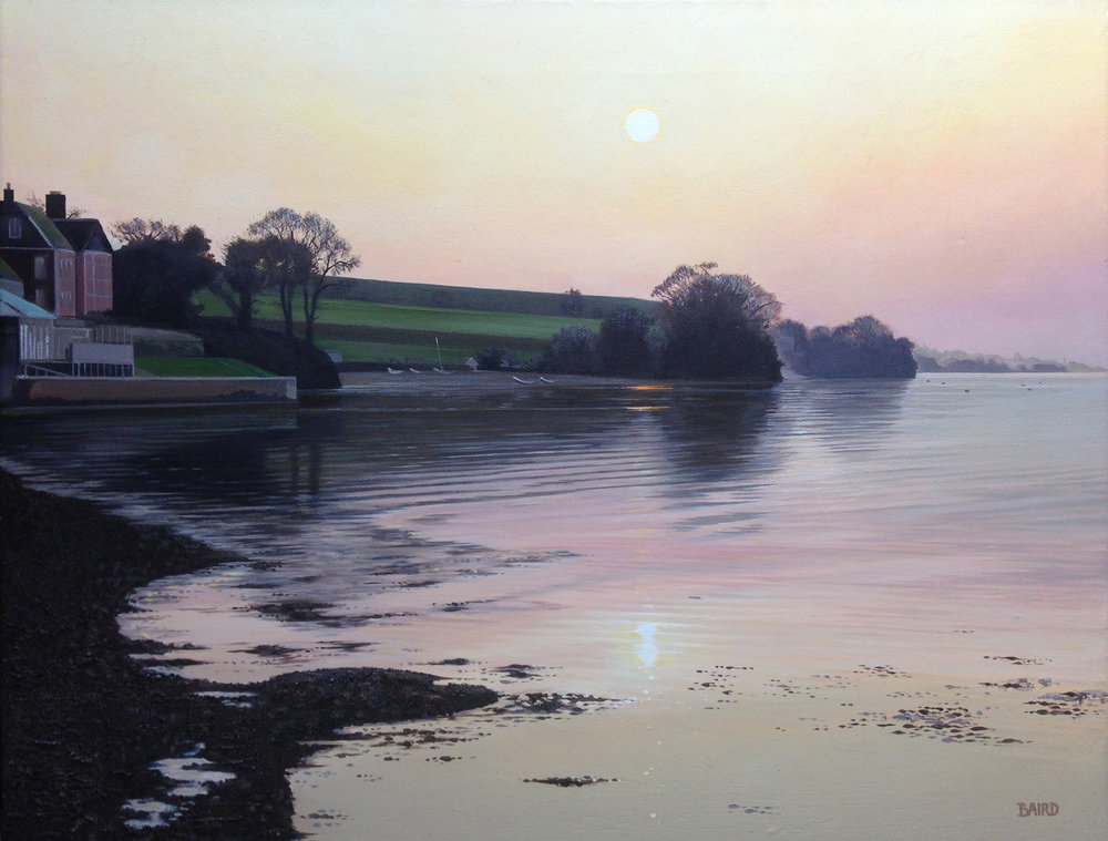 Time after Teign - Oil on canvas36cm x 46cmSOLD