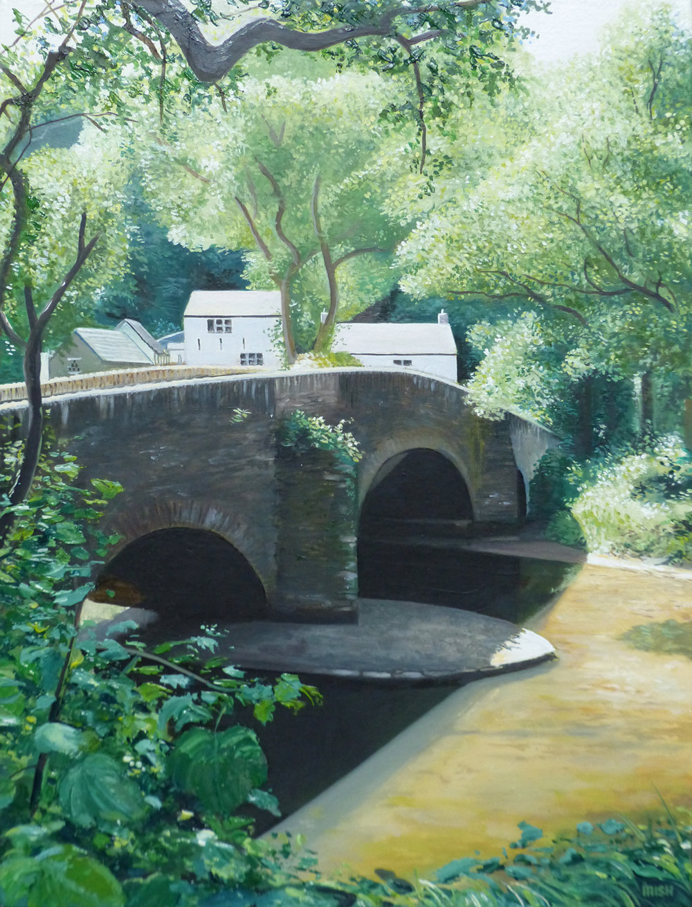 The Bridge - Oil on canvas45.5cm x 35.5cmSOLD