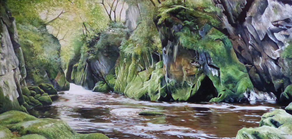 The Fairy Glen - Oil on canvas45cm x 95cmSOLD