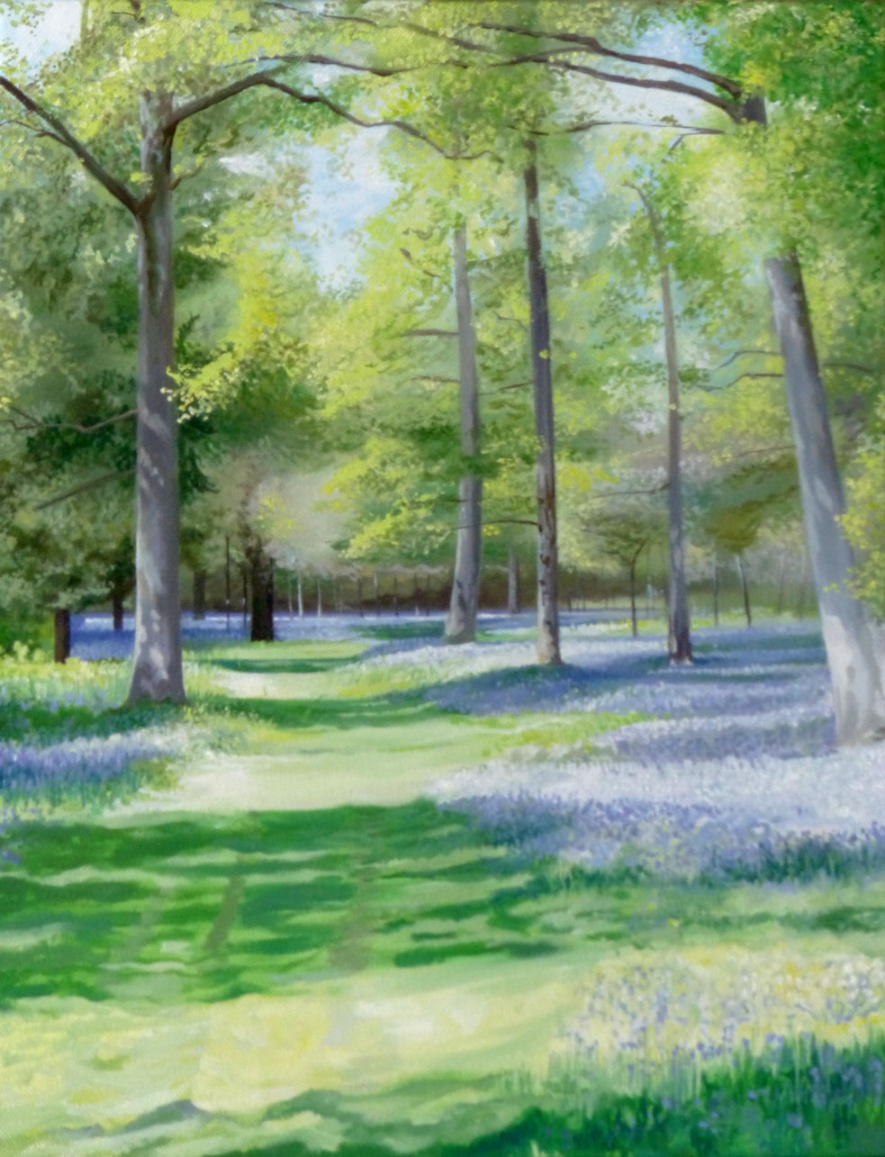 Bluebell Avenue - Oil on canvas45.5cm x 35.5cmSOLD