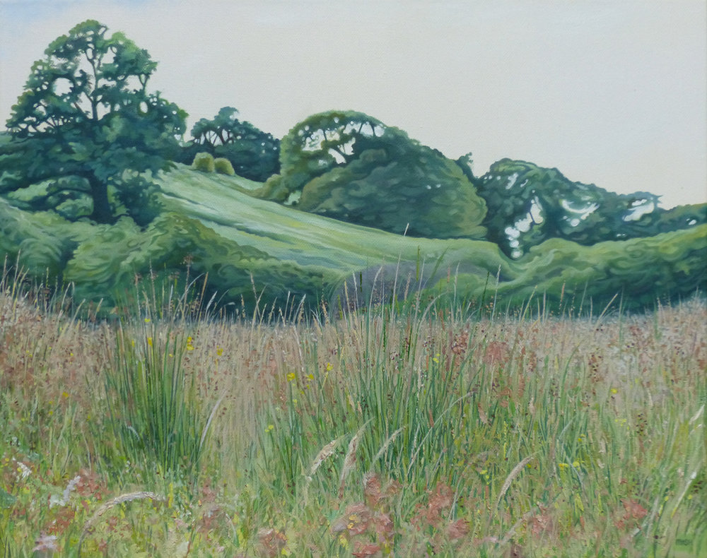 Grassland - Price on applicationOil on canvasFramed