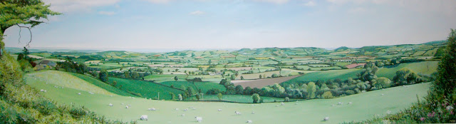 Devon Landscape - (Commission)