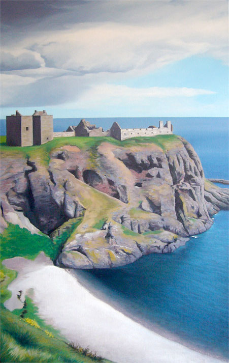 Dunottar Castle - (Commission)