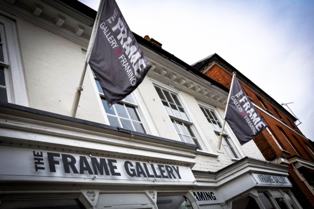 The Frame Gallery - Flying the colours.