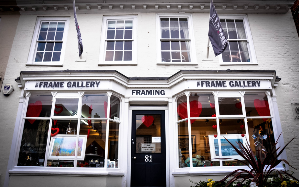 The Frame Gallery - Front of House.