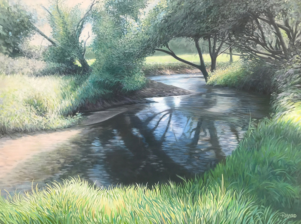 The River Bride - Price on applicationOil on canvas45.6cm x 60.8cmFramed