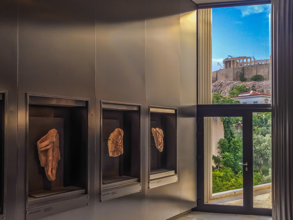 At the Acropolis museum, Athens, Greece