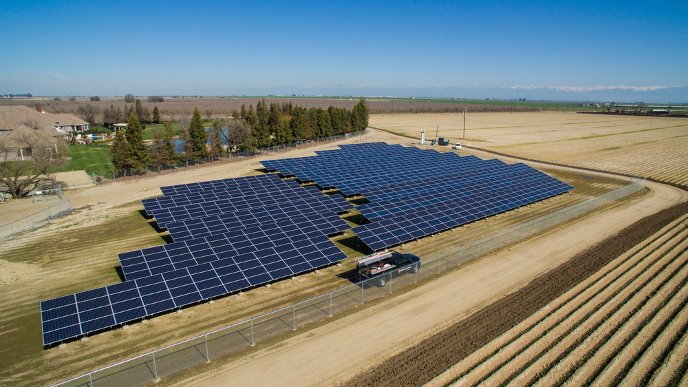 Red Triangle Pacific Solar Fresno Commercial Installation