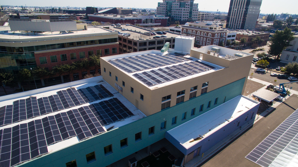 First Five Fresno Lighthouse Pacific Solar Installation