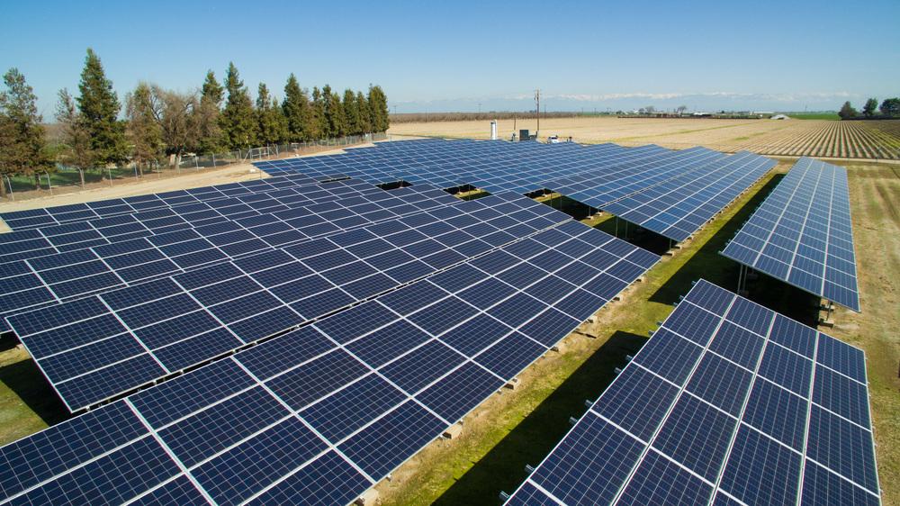 Jack DeJong Dairy Pacific Solar Installation