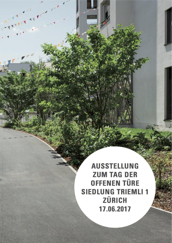 Die Dokumentation zum Tag der offenen Türe Siedlung Triemli 1 - Endlich ist es soweit: Die Dokumentation