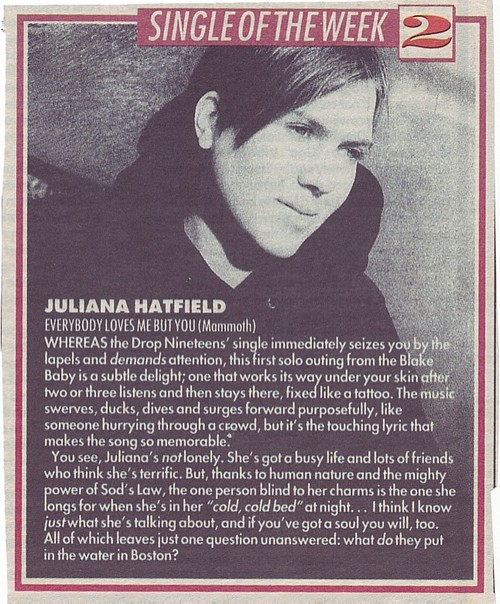 Melody Maker - July 1992