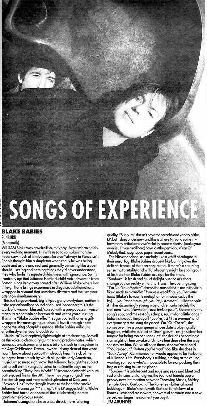 Melody Maker - March 1992