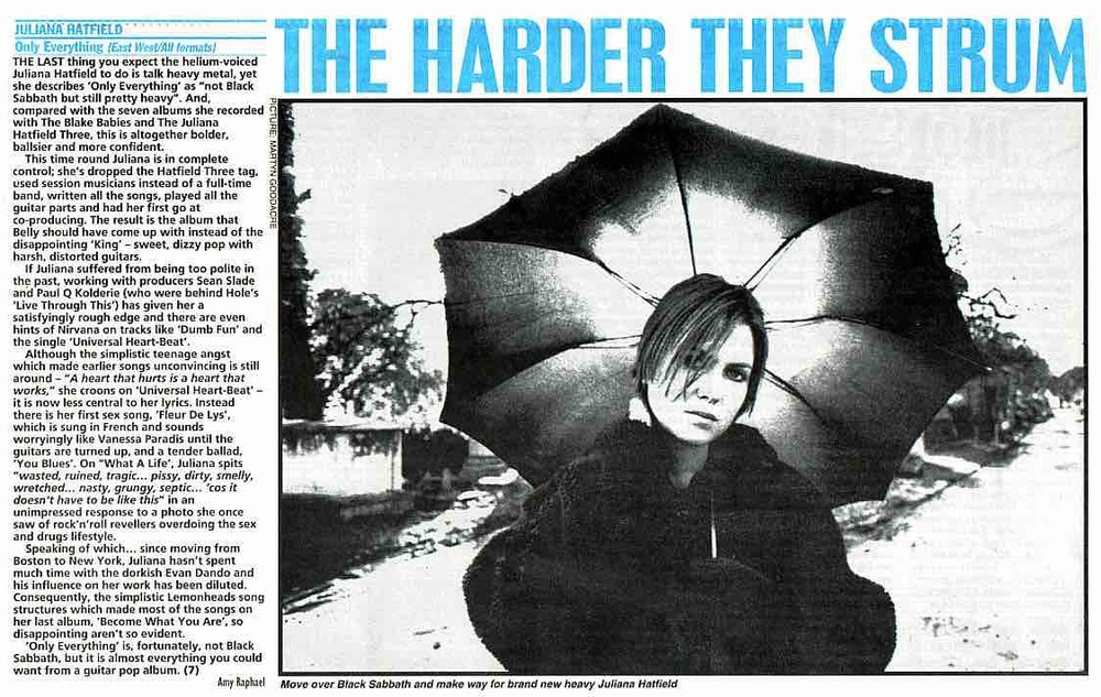 NME - March 1995