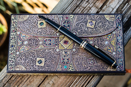 "My new journal and my favorite fountain pen.  I'm a sucker for stationery products and fountain pens. ""Tools of reflection"" (c) Rebecca LaChance, 2015, Thurmont, MD."