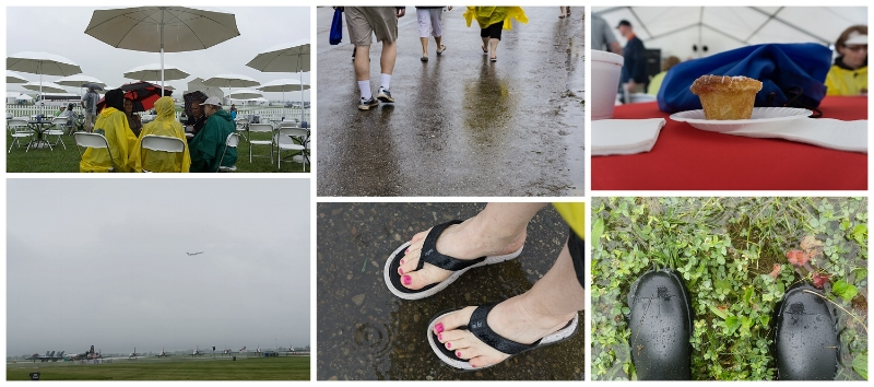 "We paid a visit back to my hometown to observe the Dayton Air Show (oops, I think it's now officially named The Vectren Air Show). ""Rainy Day Air Show"" (c) Rebecca LaChance, 2015, Dayton, OH."
