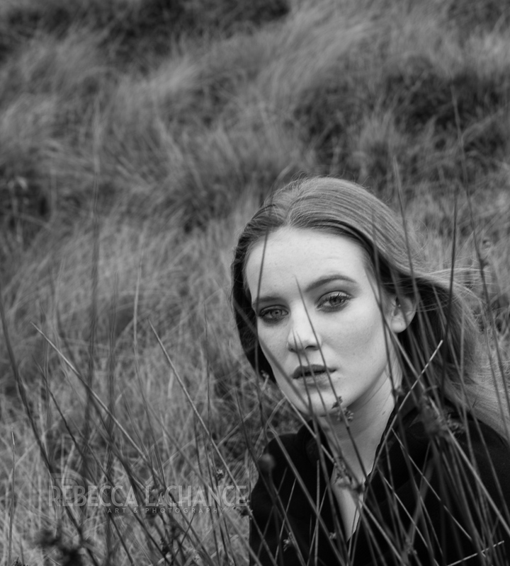 """Cathy on the moor"".  Model - Ella Mcneil, H/MUA-Lauren Rippin, Vintage styling-Caroline Brown"