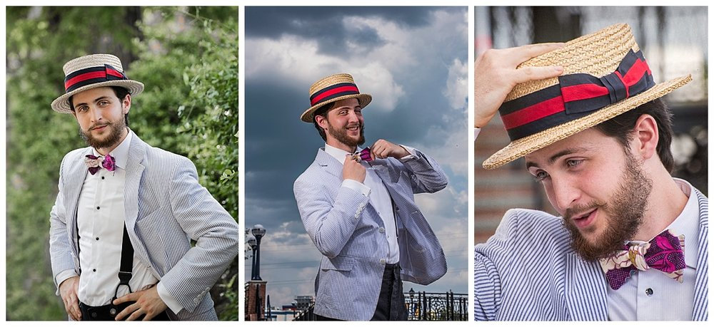 """Dapper Sam"" (c) Rebecca LacChance 2017.  Frederick, MD.  Images were taken during the PPA Super 1 Day event held by Jamie and Jason Turner of Turner Photography.  Model: Sam Sincevich of Dapper DJ's.  Sam is an incredible model!  His energy, humor, and physicality were unstoppable."
