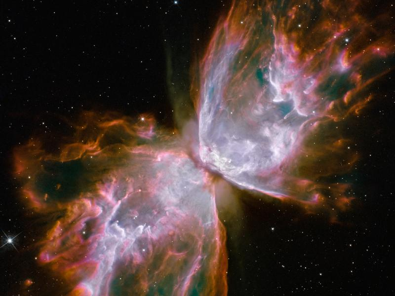 The Butterfly Nebula. Photocredit: NASA.GOV