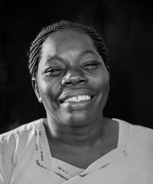 Syprine Agan, Crafts Quality Control Officer, Bombolulu Center for the Disabled, Mombasa