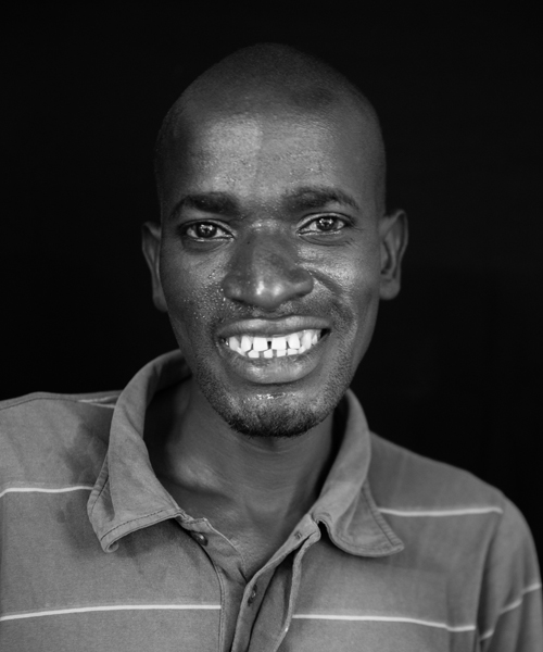 Jonathan Charo, Bag Maker, Bombolulu Center for the Disabled, Mombasa
