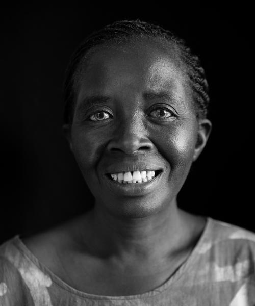 Margaret Okello, Textile Weaver, Kisumu