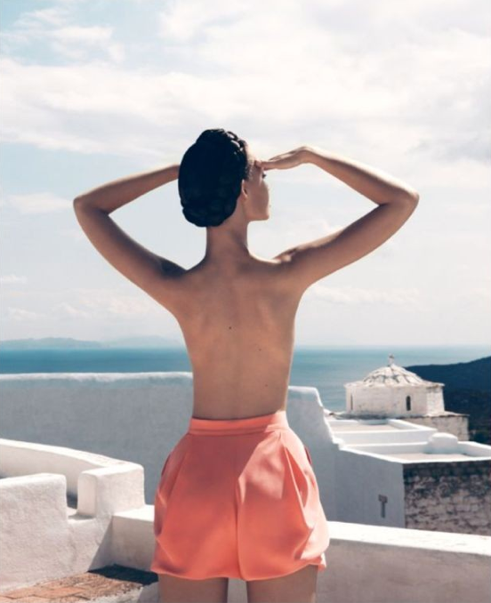 stylesight :      Tiiu Kuik by  Camilla Akrans  for New York Times Style (Travel Summer 2009)