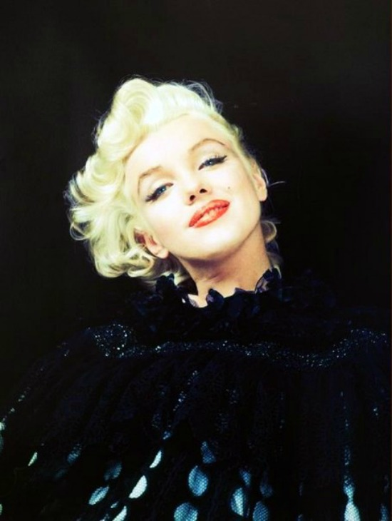 Marilyn Monroe photographed by Milton Greene, 1955.