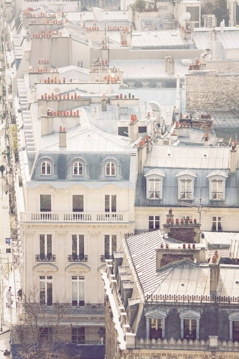 audreylovesparis :     Paris rooftops