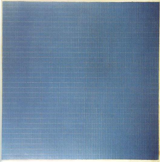 aubreylstallard :      Agnes Martin , Night Sea, 1963