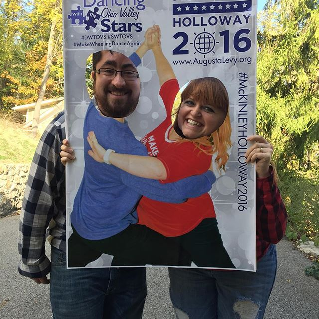 Excited for Dancing with the Ohio Valley Stars and to see my lovely wife rock the stage! #swtovs #dwtovs #mckinleyholloway2016