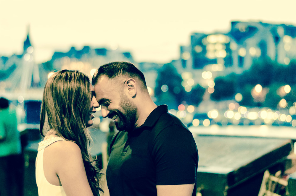 Couple Shoot, Southbank
