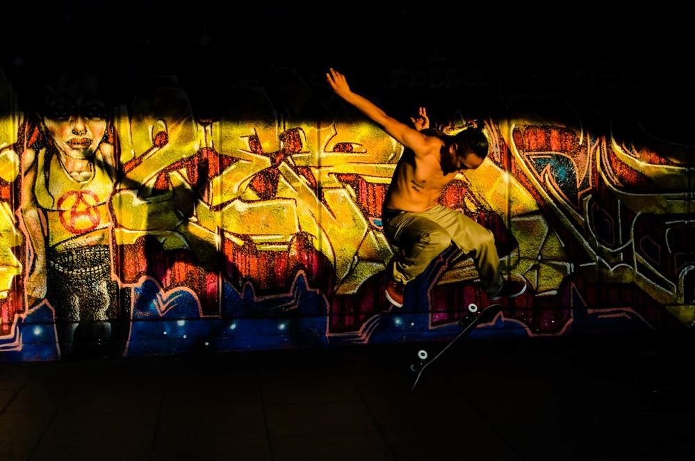The Skateboarder, Southbank