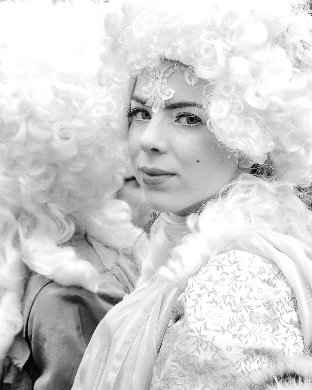 Powder and Wigs Portrait Session