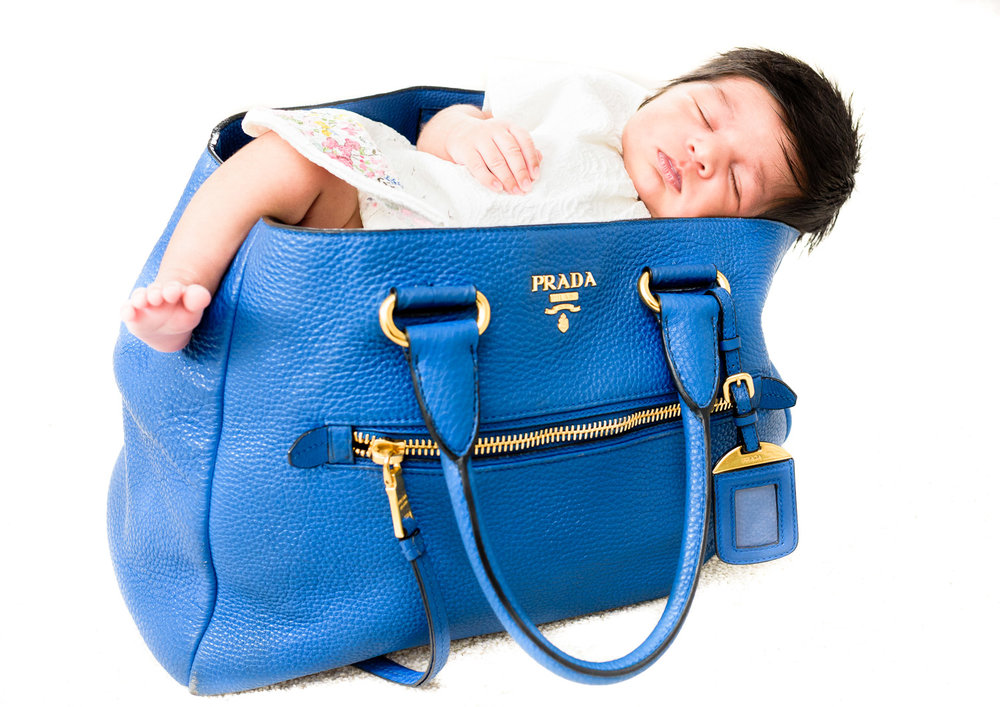 Prada Girl, Baby Portrait Session
