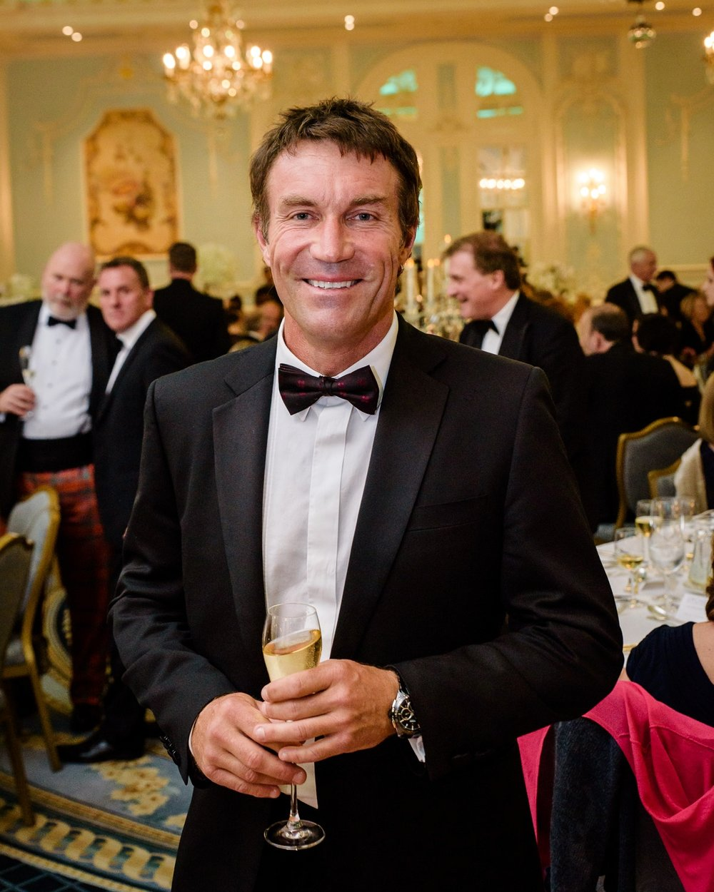 Former Wimbledon Champion Pat Cash.  Orchid Cancer Charity Ball, Savoy Hotel