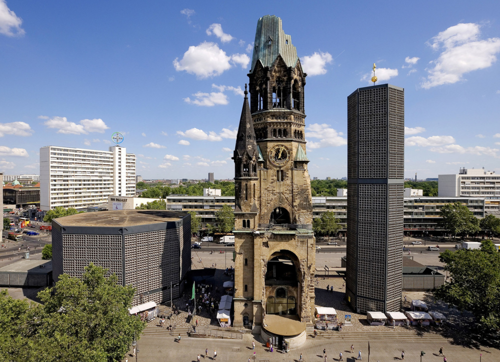 Kaiser Wilhelm Memorial Church,Berlin  Learn More→