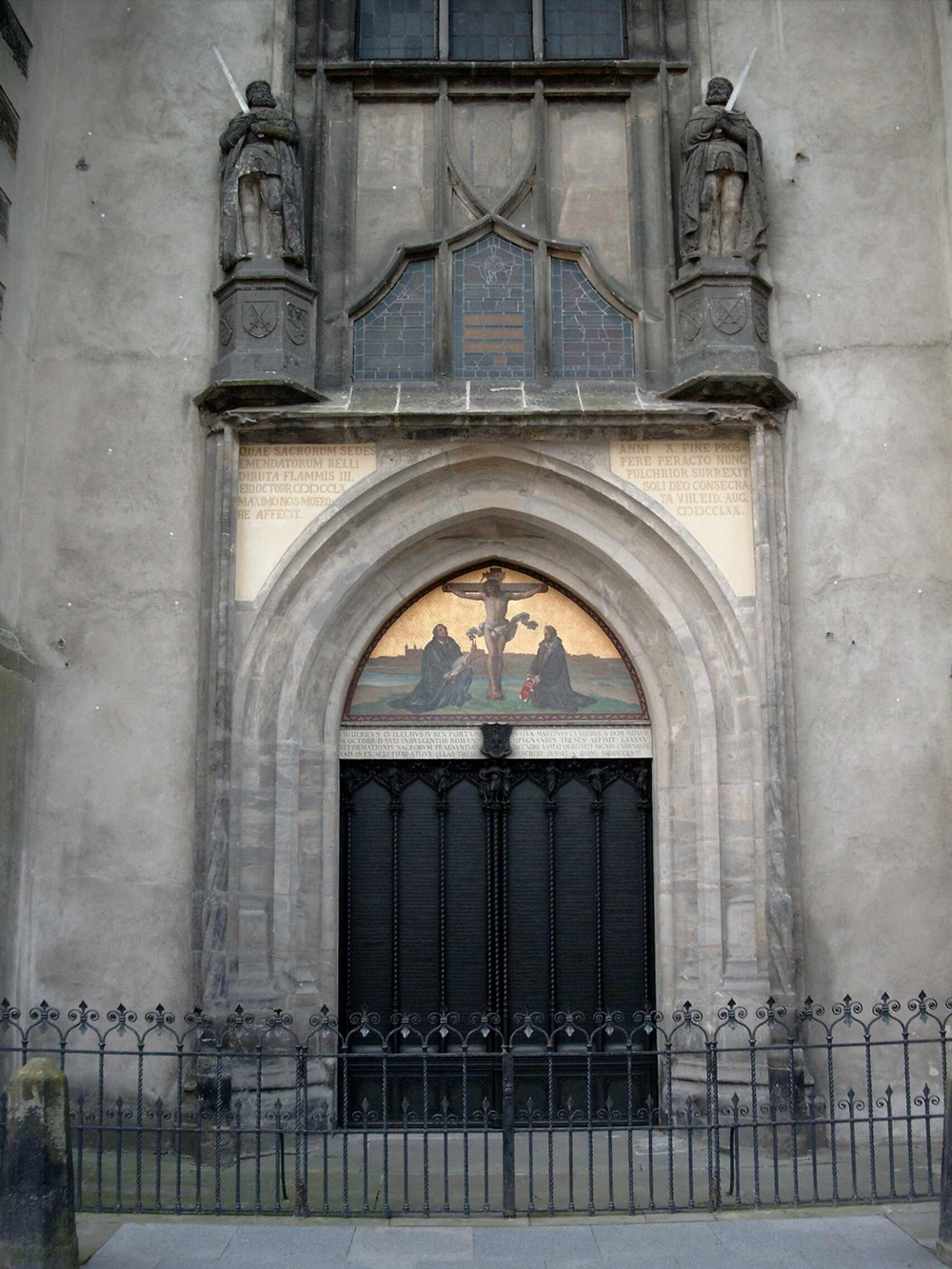 Castle Church (Schlosskirche) - Theses Door, Wittenberg