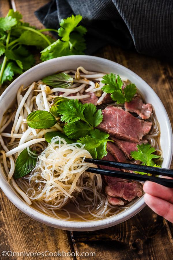 Easy Vietnamese Pho Noodle Soup, Omnivore's Cookbook.jpg