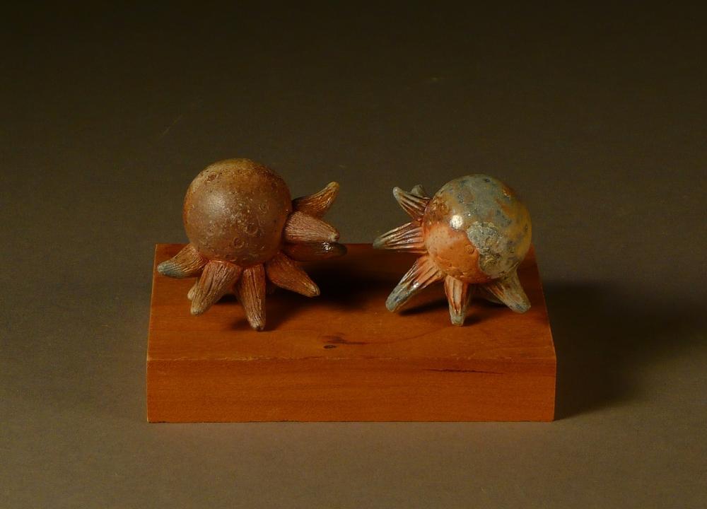 Octopi rattle pair